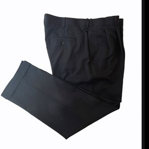 Savane Black Straight Leg Dress Pants 40x30
